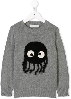 Stella McCartney intarsia logo knit sweater