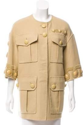 Marc Jacobs Oversize Wool Tunic