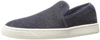 Puma Basket Classic Slip on Denim Fashion Sneaker