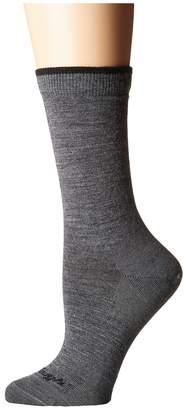 Darn Tough Vermont Solid Crew Socks Women's Crew Cut Socks Shoes