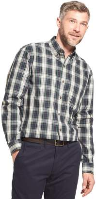 Arrow Men's Trail Blazer Classic-Fit Plaid Button-Down Shirt