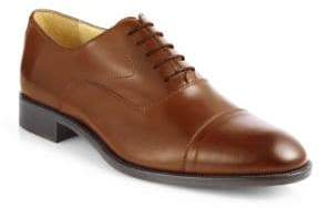 Saks Fifth Avenue COLLECTION Tyler Leather Cap Toe Oxfords