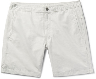 Calder Long-Length Swim Shorts $175 thestylecure.com