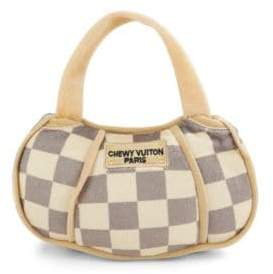 Chewy Vuitton Checker Handbag