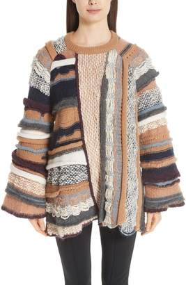 Stella McCartney Multi Knit Wool Sweater