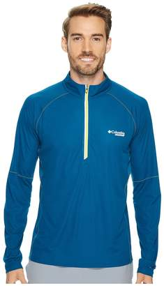 Columbia Titan Ultra Half Zip Shirt Men's Long Sleeve Pullover