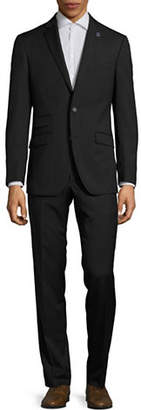 Ted Baker NO ORDINARY JOE Joey Grid Check Wool Suit