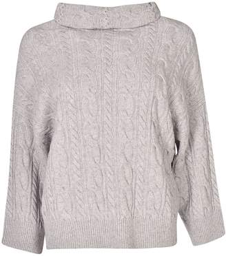 Max Mara Cable Knit Sweater