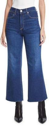 Rag & Bone Justine High-Rise Cropped Flare-Leg Jeans