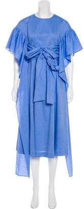 Rejina Pyo Chambray Midi Dress w/ Tags