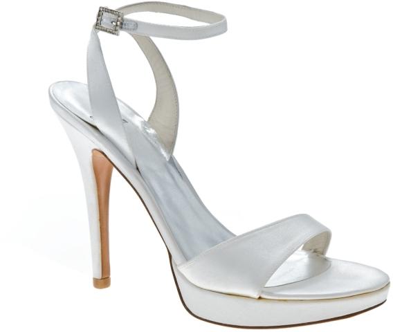 Stuart Weitzman Glohotbit Satin Platform Sandal