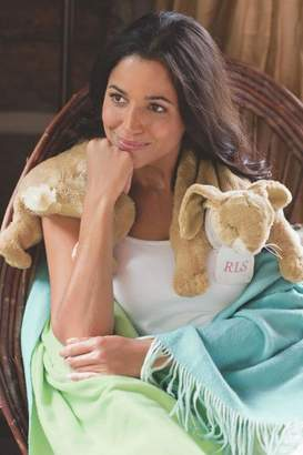 Soft Surroundings Monogrammed Bunny Wrap