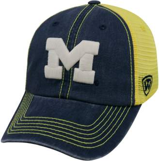 Adult Michigan Wolverines Crossroads Vintage Snapback Cap