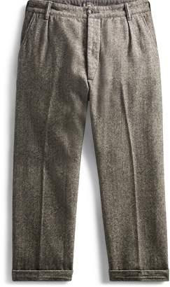 Ralph Lauren Pleated Herringbone Pant