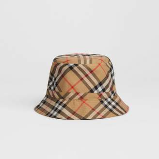 9e28ad45 Burberry Childrens Vintage Check Bucket Hat