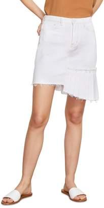 Habitual Corinna Asymmetrical Pleated Skirt
