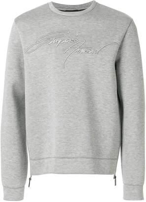 Emporio Armani signature logo sweatshirt