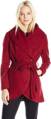 BB Dakota Women's Gitty Wrap Coat
