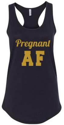 Abercrombie & Fitch All Things Apparel Pregnant Ladies Racer Back Tank Top - /Gold Shimmer (ATA1634)