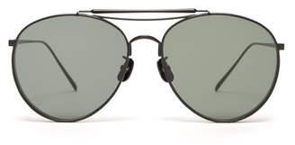 Gentle Monster Big Bully 01 Sunglasses - Mens - Black