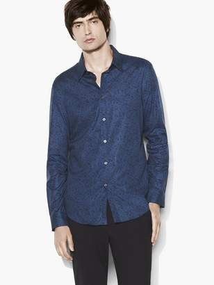 John Varvatos Abstract Print Shirt