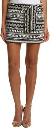Parker Novelty Woven Mini Skirt