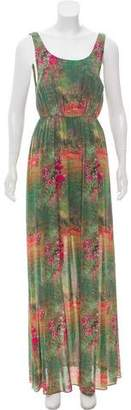 Alice + Olivia Silk Maxi Dress