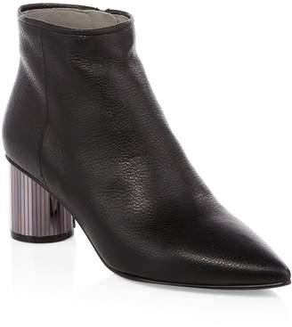 Pedro Garcia Berta Mirrored Heel Ankle Boots