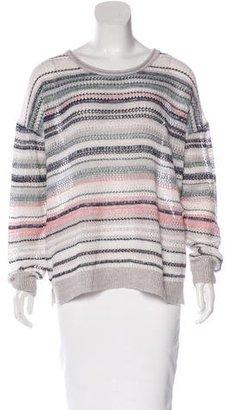 Inhabit Cashmere & Linen Sweater $130 thestylecure.com