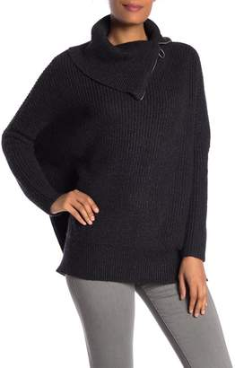 AllSaints Dano Oversized Funnel Neck Sweater