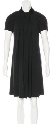 Marc JacobsMarc Jacobs Draped Wool Dress