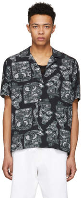Saturdays NYC Black Canty Pendant Shirt