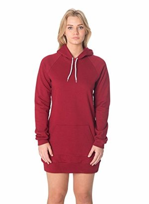 American Apparel California Fleece Pullover Raglan Hoodie Dress $44 thestylecure.com