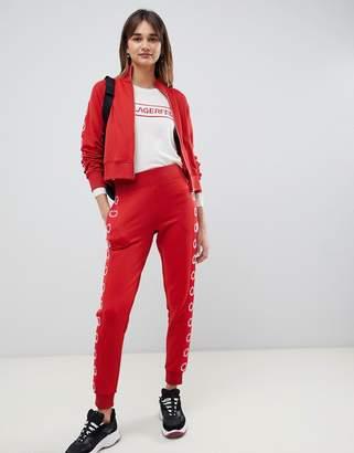 Karl Lagerfeld logo track pants
