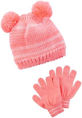 Carter's Girls' Winter Hat-Glove Sets D08g101