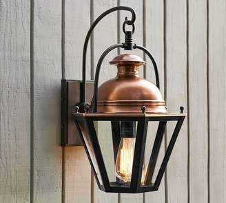 Pottery Barn Case Indoor/Outdoor Sconce