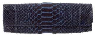 Carlos Falchi Python Evening Bag