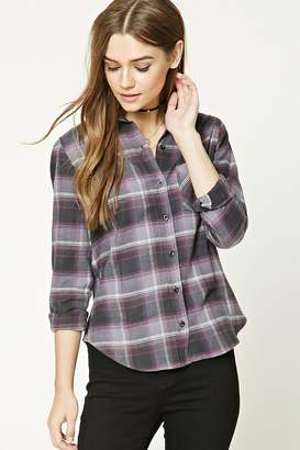 Forever 21 Plaid Flannel Shirt