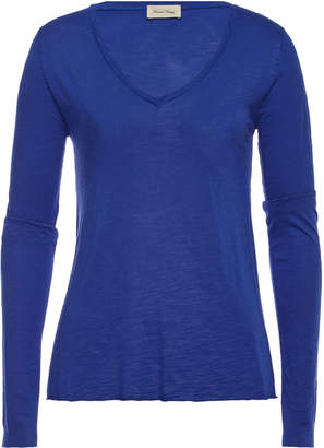 American Vintage V-Neck Top with Cotton