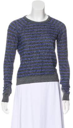 Alexander Wang Striped Cotton Sweatshirt