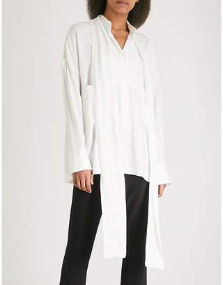 Ann Demeulemeester Oversized woven shirt