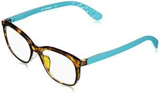 A. J. Morgan A.J. Morgan Women's La Seine - Power 0 53746 Rectangular Reading Glasses
