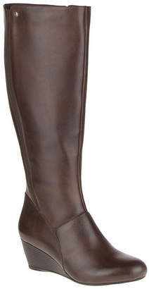 158adc1c372 at JCPenney · Hush Puppies Womens Pynical Rhea Riding Boots Wedge Heel Zip