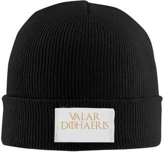 7b57d40f821 OPIERLFD Valar Dohaeris Dad Beanie Hats Cool Knit Caps Cool Warm Pattern
