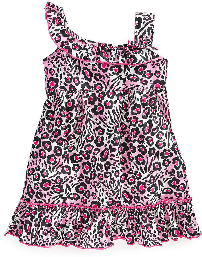 Kids Headquarters Lilybird Baby Dress, Baby Girls Animal-Print Dress and Diaper Cover