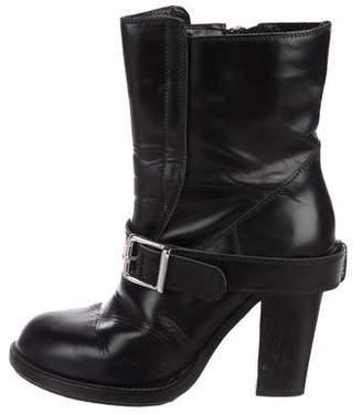 Chloé Leather Mid-Calf Boots