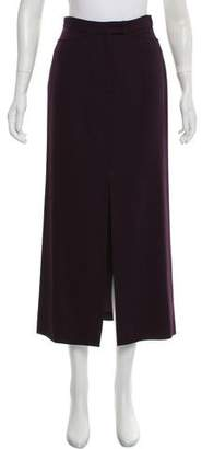 Henri Bendel Vented Midi Skirt