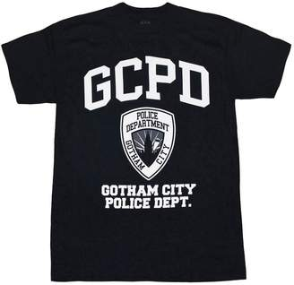 Black GCPD: Gotham City Police Department T-Shirt