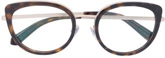 Bulgari cat-eye glasses