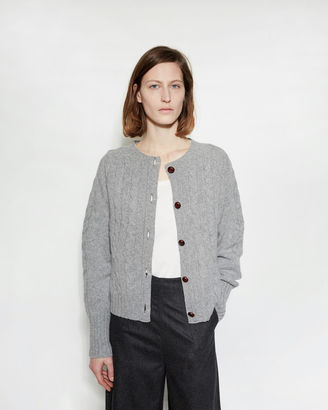 Margaret Howell Aran Cardigan $425 thestylecure.com